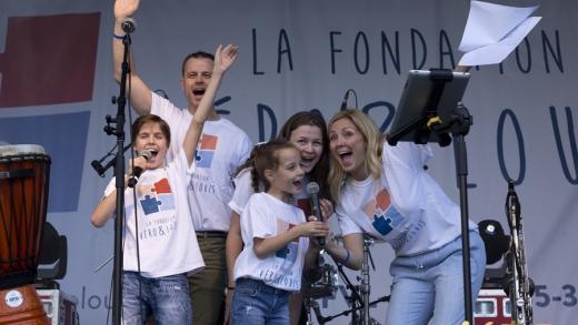 Belle solidarité pour la Fondation Véro & Louis