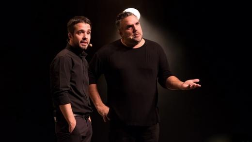 Juste Dominic et Martin au théâtre Maisonneuve