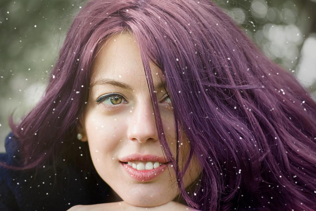 cheveux-violets-femme