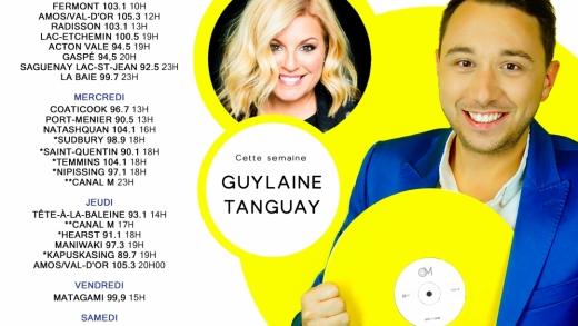 Cette semaine à Studio M : Guylaine Tanguay