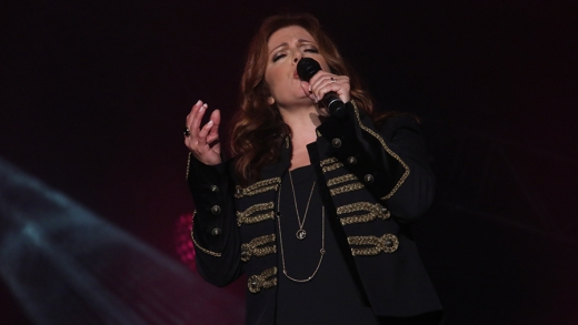 Isabelle Boulay à l'International de montgolfières de Saint-Jean-sur-Richelieu